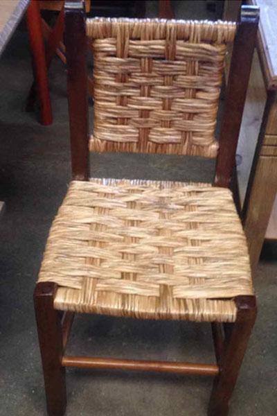 Cadeira Palha Romântica